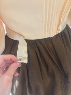 Ribbon Belt Attaches with Thread Bar