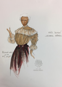 Mrs. Dickson's Act II Blouse