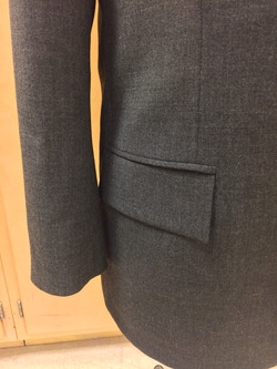 Double Pipping Pocket with Flap