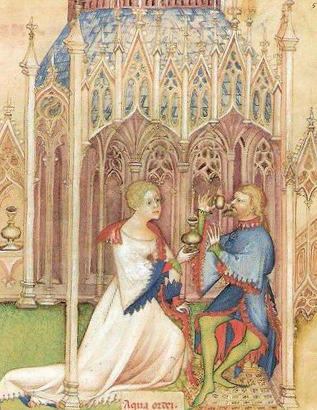 Tacuinum Sanitatis Lombardy c.1390s