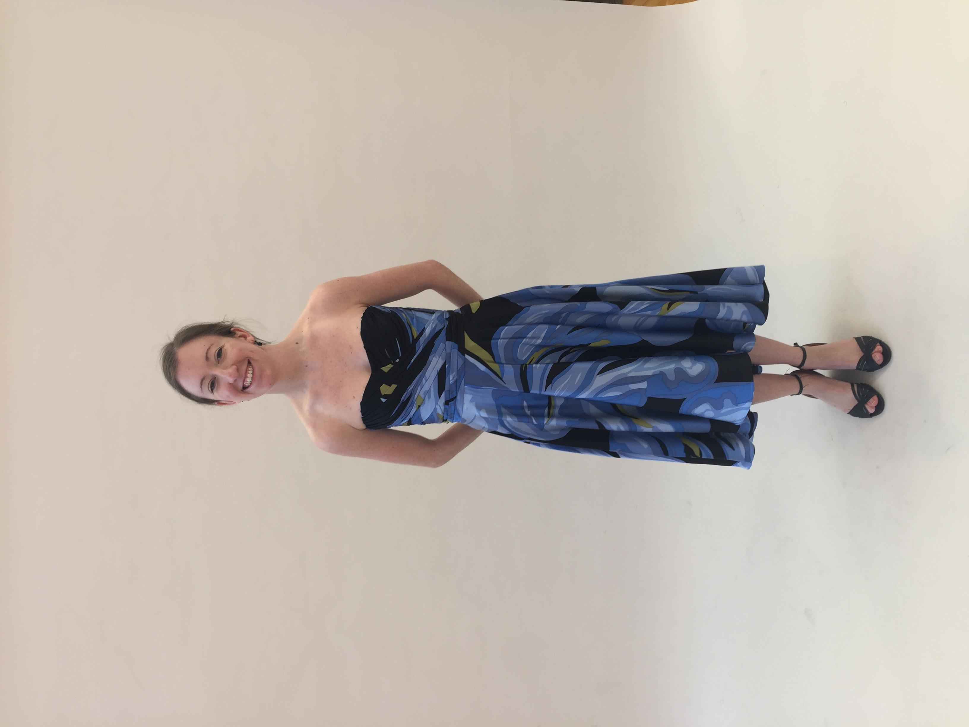 Finished Strapless Foundation Dress