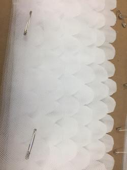 Scalloped Net Layers