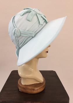 1920's Inspired Buckram Hat
