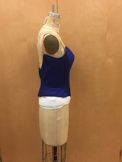 Ballet Bodice Side View