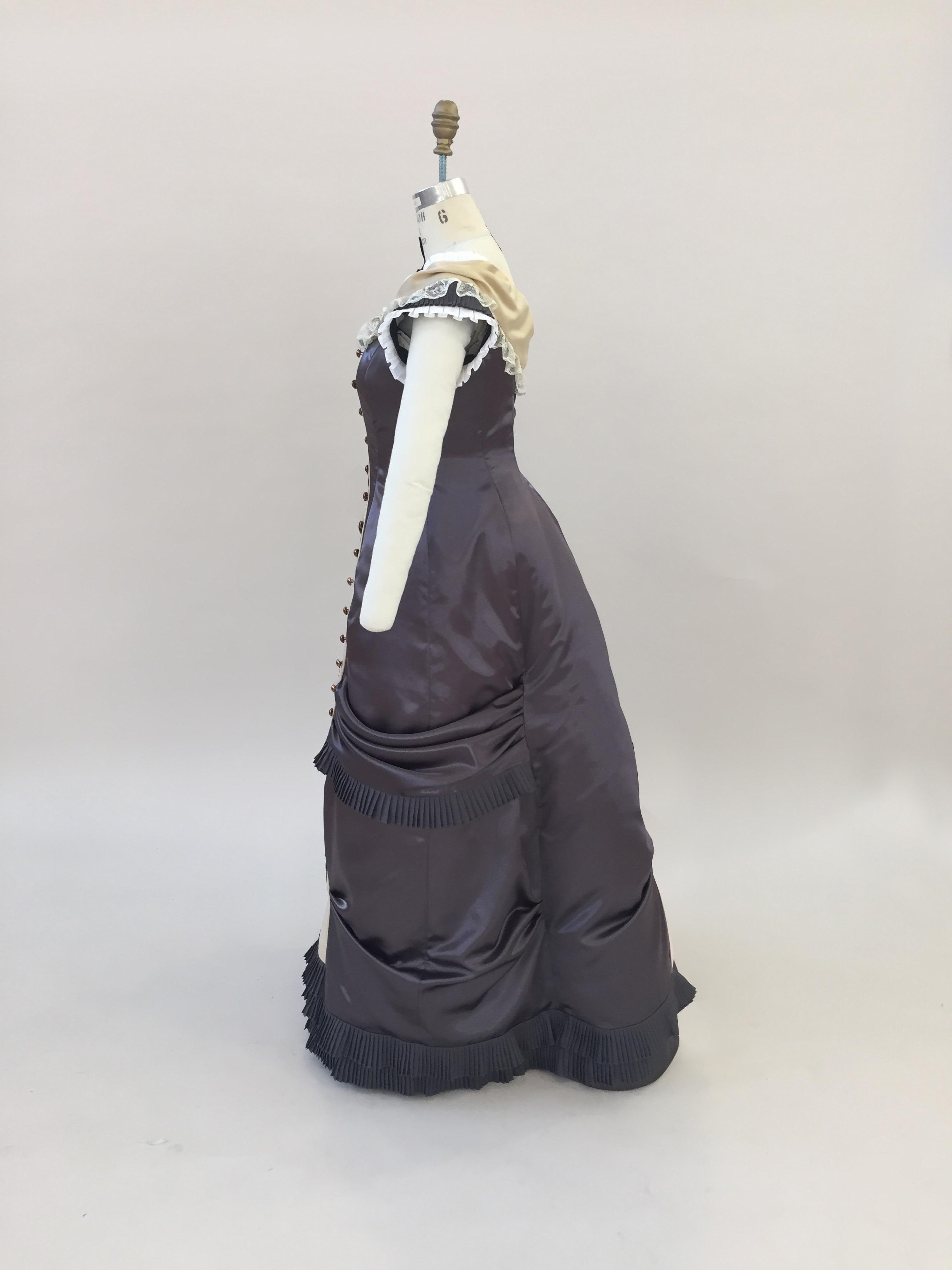 Small Bustle Dress