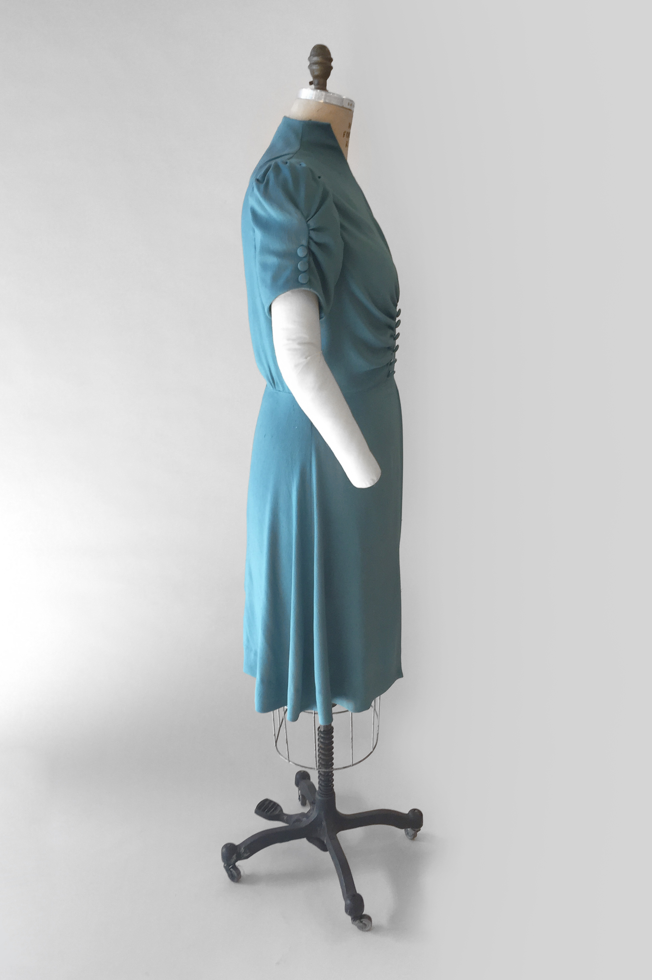 Late 1930s Day Dress