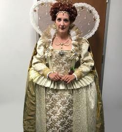 Queen Elizabeth's Gold Gown