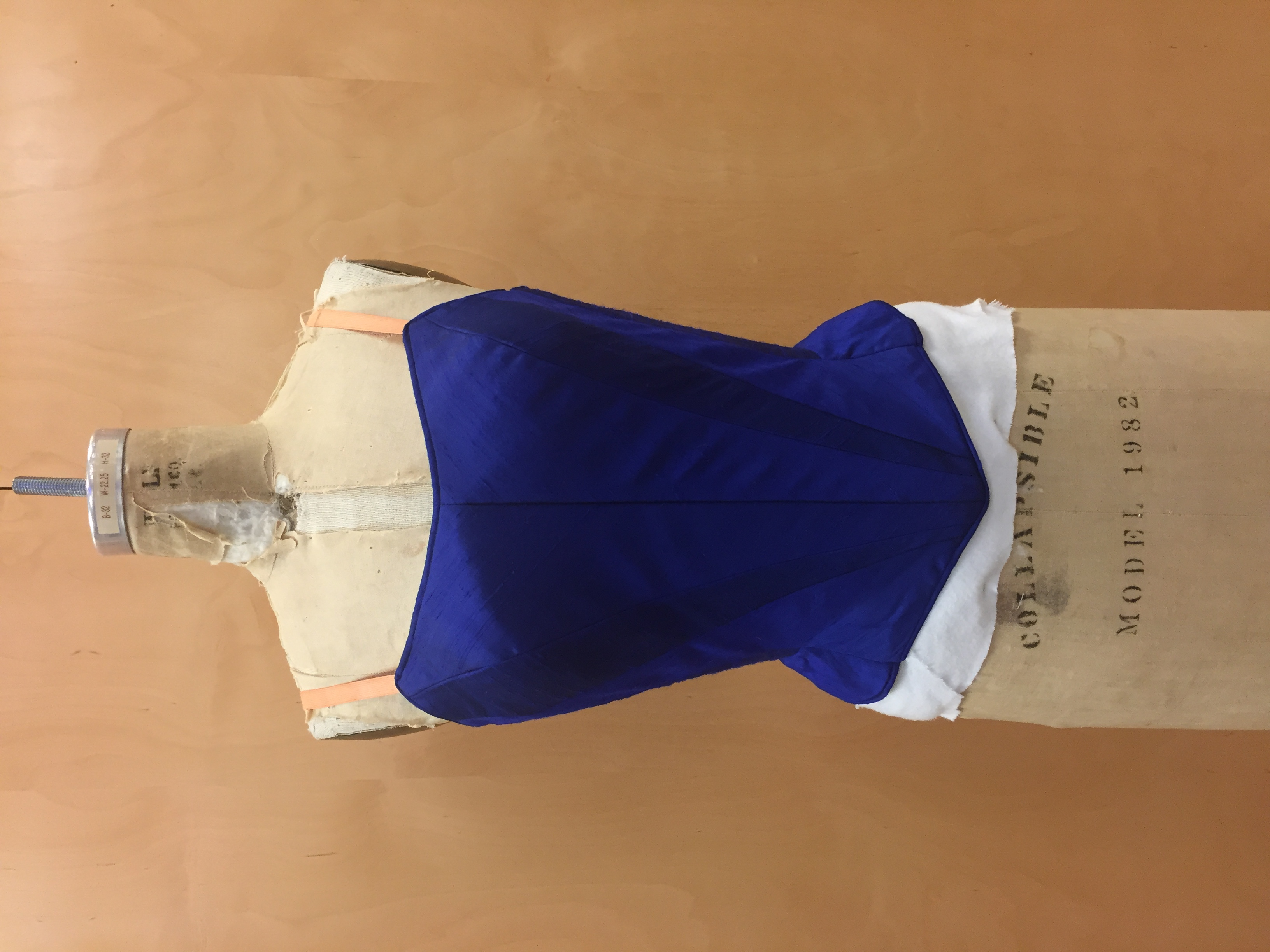 Ballet Bodice Front View