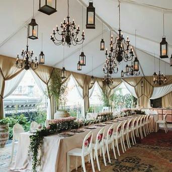 Romantic Modern Tablescape