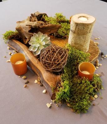Forest Theme Table Decor
