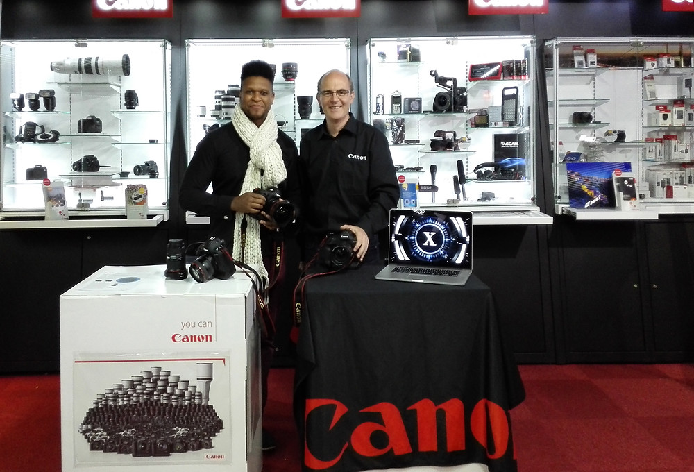 Alain Tombois and me and... Canon EOS-1DX mark II