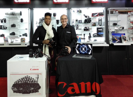 Canon experience days and the Amazing  EOS-1D X MARK II                                            c