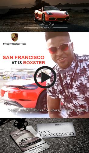 Porsche 718 Boxster launch in San Francisco