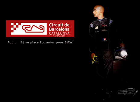 Terrific !!! a 2nd place at the Circuit of Catalunya Barcelona.