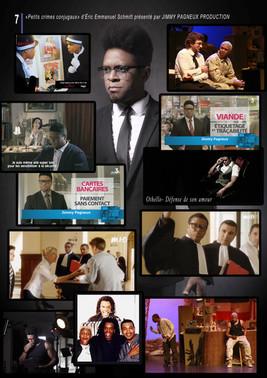 Actor and Tv Presenter board