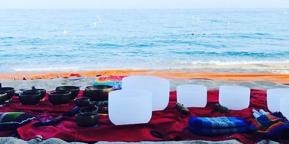Cena con encanto en la playa y concierto de Cuencos Tibetanos, 2 de julio 2020