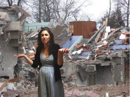 Actress Demolishes Entire Apartment Building Trying To Get Right Light For Self Tape