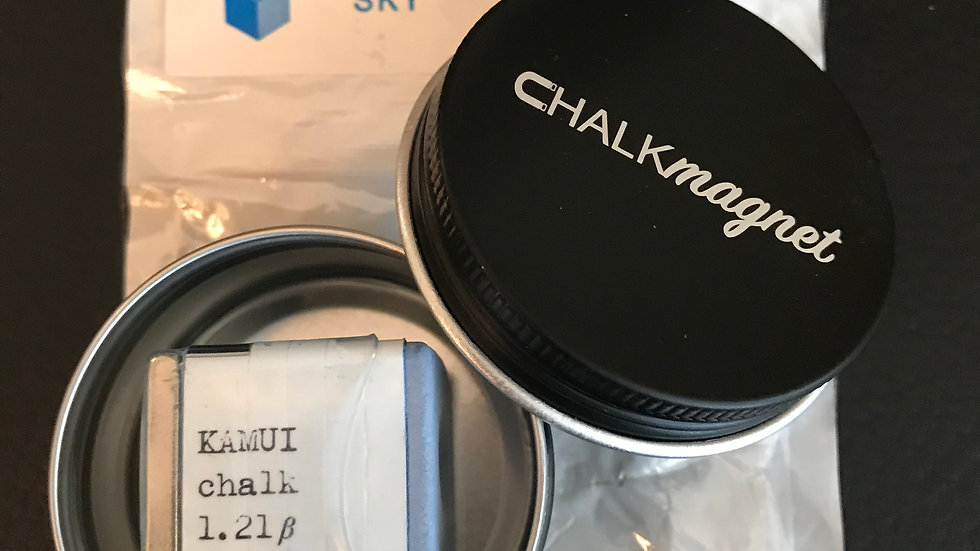 """Receiver-Ready"" Kamui® 1.21ẞ Chalk & Chalk Tin"