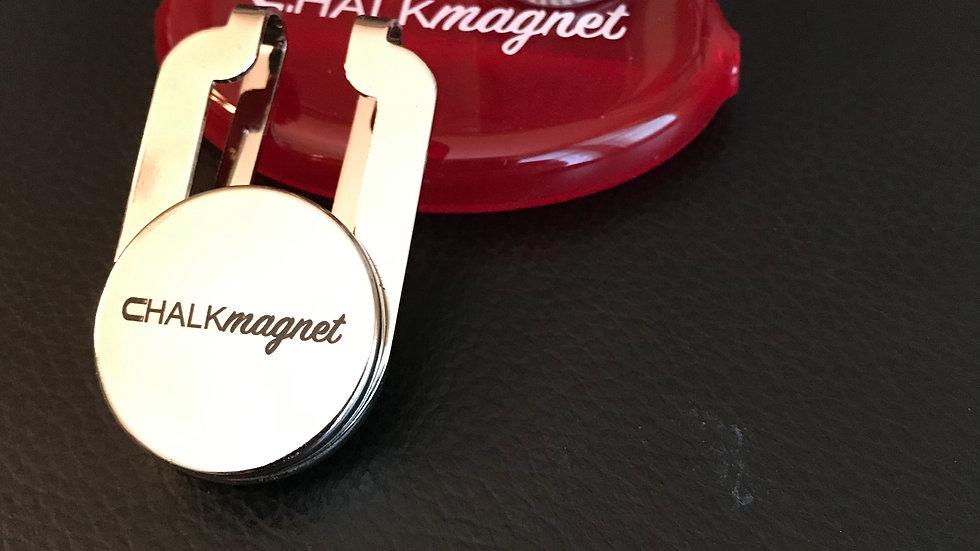 "CHALKmagnet® Chalk Holder Receiver & ""Receiver Ready"" Magic Chalk®"