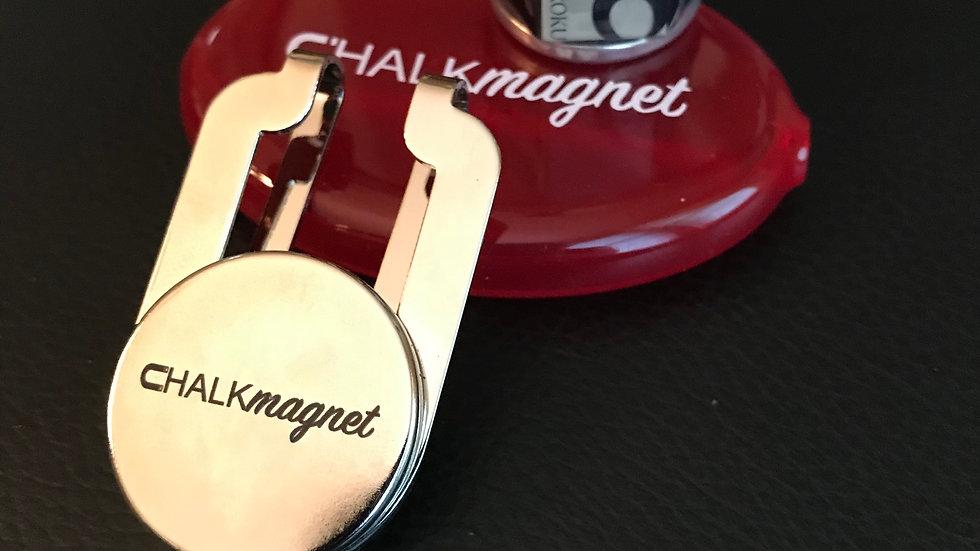 "CHALKmagnet® Chalk Holder Receiver ROM.10 & ""Receiver Ready"" Kamui® Roku 6 Chalk"