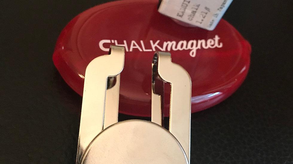 CHALKmagnet® ROM.10 Chalk Holder Receiver with Kamui® 1.21ẞ Chalk