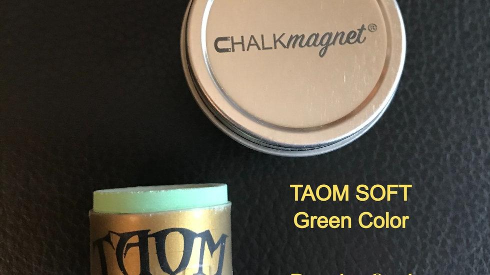 """Receiver-Ready"" TAOM® Green Soft Chalk & Chalk Tin"