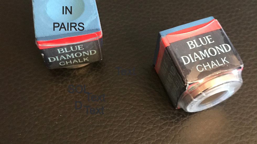 """""""Receiver-Ready"""" Blue Diamond® Chalk """"Priced & Sold in Pairs"""""""