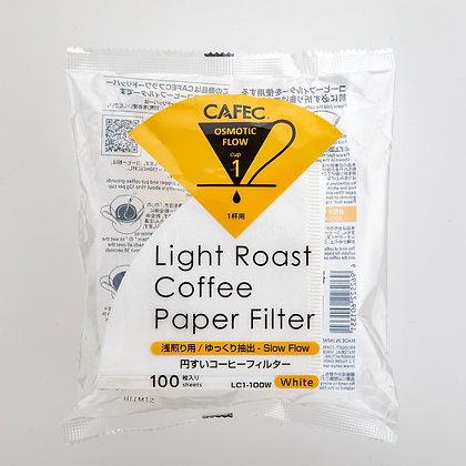 CAFEC Coffee Paper Filter - Light Roast