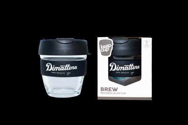 Dimattina KeepCup Reusable Glass Coffee Cup 8oz