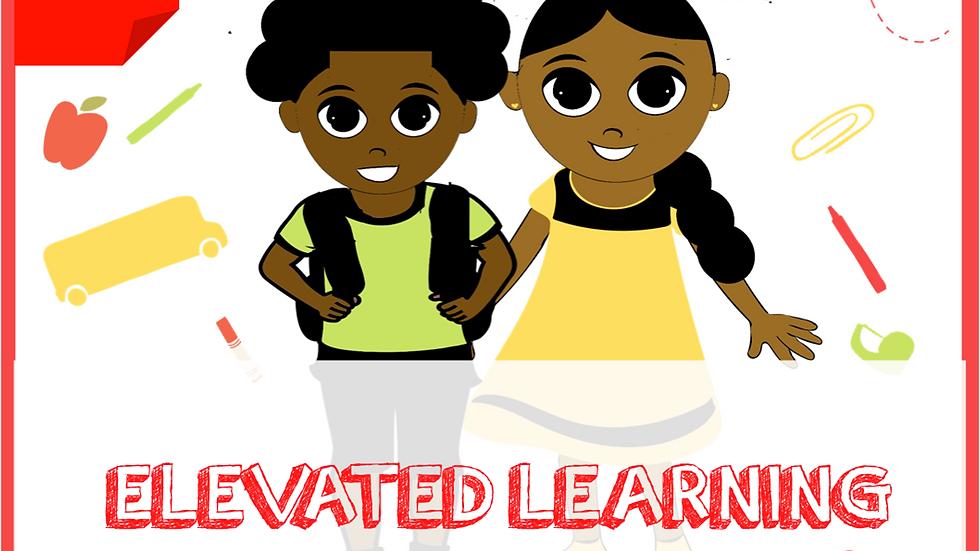 Toddler Elevated Learning Binder