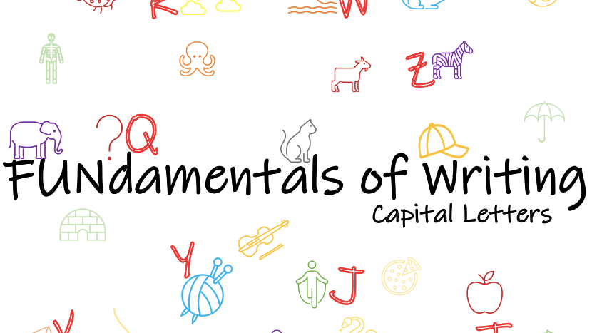 Writing Capital Letters