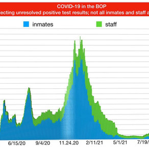 August 23, 2021: COMPASSIONATE RELEASE and BOP COVID-19 BLOG