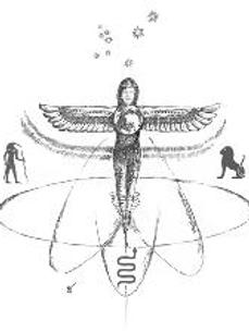 THE WINGED DISK Meditation Image