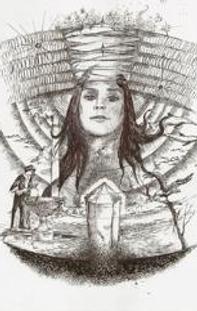 QUEEN NEFERTITI'S HEADDRESS Meditation Image