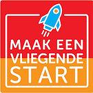 Het logo van project Vliegende Start