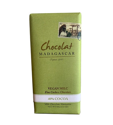 Chocolat Madagascar Vegan milc bar 85g