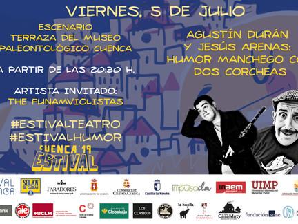 Humor y teatro se unen con la música de hilo conductor en Estival Cuenca