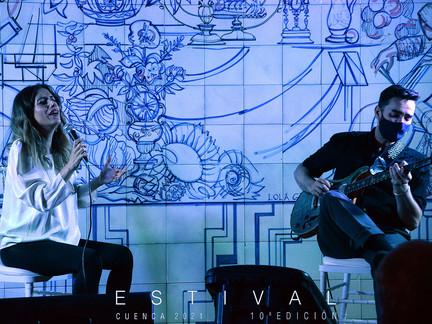 Verónica Ferreiro y Javier Sánchez suben el telón de Estival Cuenca 2021