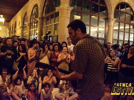 Depedro se impone a la lluvia y deja otro concierto para el recuerdo en Estival Cuenca