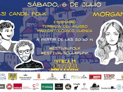 Estival Cuenca '19 echa el cierre a ritmo de folk y funk