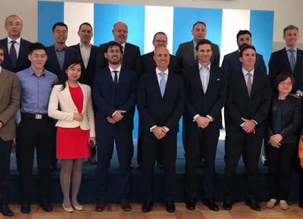 Alba represented Argentina in the Asian VC and Private Equity Tour