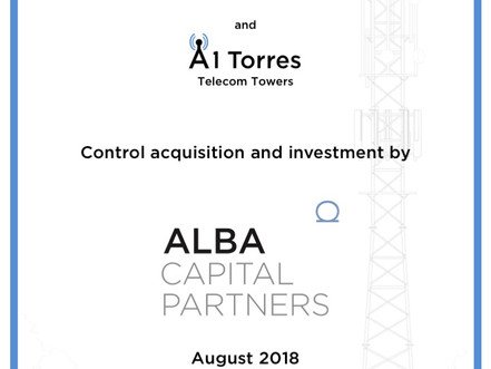 Alba Capital Partners invests in the telecom tower sector