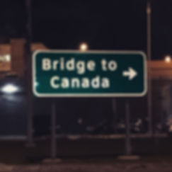 Sign to Canada