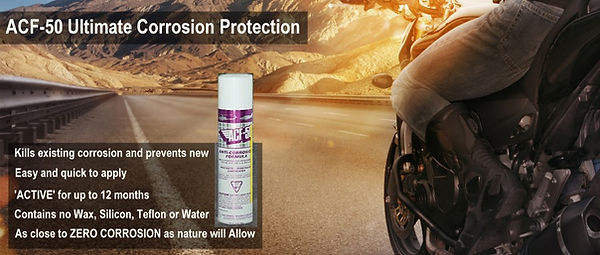 ACF-50 Motorcycle andaircraft corrosion protection spray