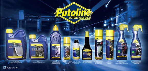 Motorcycle oil from Putoline