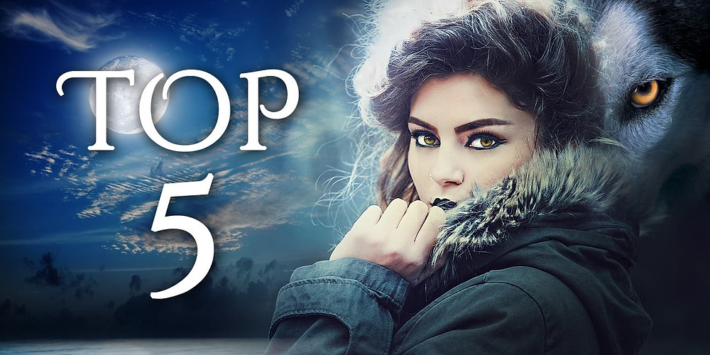 Top 5 list, paranormal romance must reads, shifters, dark, series, mates, protectors, alpha males, alpha shifters, dragon shifters, series, dragon series, paranormal romance, paranormal romance series, must reads
