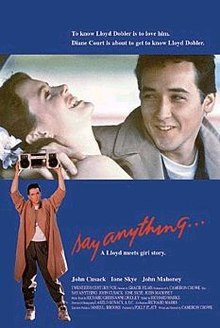 Say Anything, Romantic Comedy, romantic comedies, Top 5, Top 5 movies, am writing, am writing romance, romance books,