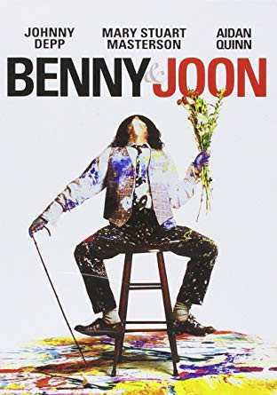 Benny & Joon, Johnny Depp, Aidan Quinn, Mary Stuart Masterson, movies, movies I love, movies I adore, Top 5, Top 5 movies, Top 5 Romantic Comedies, am writing, am writing romance, am writing romance books