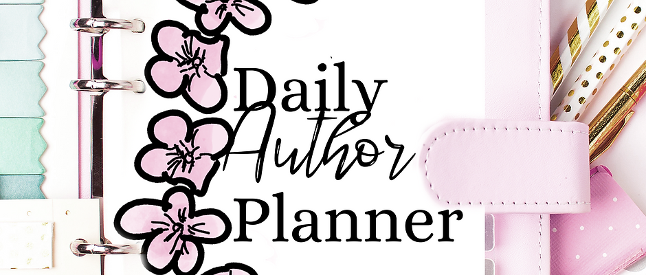 Writing Planner Printable, Author Planner, Writing Project Planner, Daily Planne