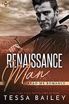 Tessa Bailey, Read Me Romance, Renaissance Man, steamy romance, romance books, romance books I've read, steamy romance, dirty talkers